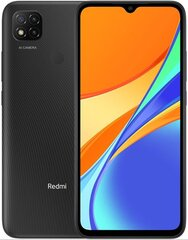 Xiaomi Redmi 9C NFC, 32 GB, Dual SIM, Midnight Gray цена и информация | Xiaomi Redmi 9C NFC, 32 GB, Dual SIM, Midnight Gray | 220.lv