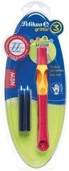 Pildspalva Pelikan Griffix T2, sarkana cena un informācija | Pildspalva Pelikan Griffix T2, sarkana | 220.lv