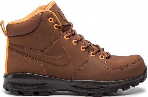 Nike Apavi Manoa Leather Brown cena un informācija | Sporta apavi vīriešiem | 220.lv