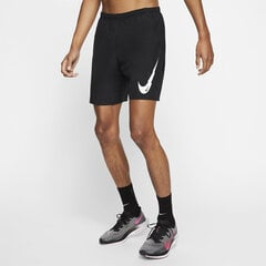 Nike Šorti M NK Run Short 7IN WR BF PO GX Black cena un informācija | Nike Šorti M NK Run Short 7IN WR BF PO GX Black | 220.lv