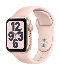 Apple Pulkstenis SE, 40 mm, Zelta alumīnija korpuss ar rozā smilšu krāsas sporta aproci cena un informācija | Viedpulksteņi (smartwatch) | 220.lv