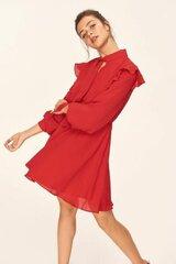 Sieviešu kleita, sarkana cena un informācija | Kleitas | 220.lv