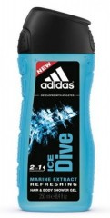 Dušas želeja Adidas Ice Dive 250 ml