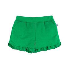Šorti Bossa Nova meitenēm, zaļā krāsā cena un informācija | Šorti meitenēm | 220.lv