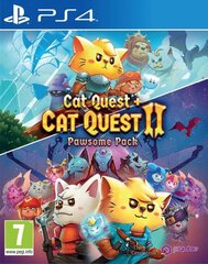 Cat Quest 2 Pawsome Pack (Cat Quest 1 + 2), Playstation 4 cena un informācija | Cat Quest 2 Pawsome Pack (Cat Quest 1 + 2), Playstation 4 | 220.lv