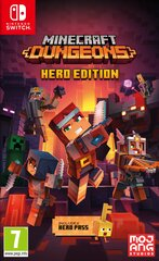 Minecraft Dungeons: Hero Edition NSW cena un informācija | Minecraft Dungeons: Hero Edition NSW | 220.lv
