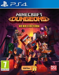 Minecraft Dungeons: Hero Edition PS4 cena un informācija | Minecraft Dungeons: Hero Edition PS4 | 220.lv