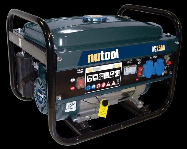 Ģenerators Nutool AG2500 cena un informācija | Elektrības ģeneratori | 220.lv
