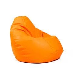 Sēžammaiss XL SMART no mākslīgās ādas - Oranžs cena un informācija | Sēžammaiss XL SMART no mākslīgās ādas - Oranžs | 220.lv