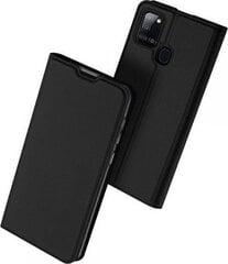 Dux Ducis, telefona maciņš, piemērots Samsung A21s (A217), melns cena un informācija | Maciņi, somiņas | 220.lv