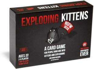 Galda spēle Exploding kittens nsfw cena un informācija   Galda spēle Exploding kittens nsfw   220.lv