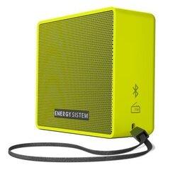 Energy Sistem Music Box 1+ Pear Bluetooth Wireless Mini Speaker 5W. 3 gadu garantija. cena un informācija | Skaļruņi | 220.lv