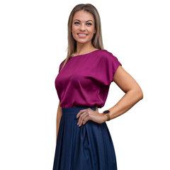 Rozā krāsas blūze BRANCHESS cena un informācija | Blūzes, sieviešu krekli | 220.lv