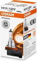 Osram H11 12V 55W PGJ19-2 HALOGEN cena un informācija | Autospuldzes | 220.lv
