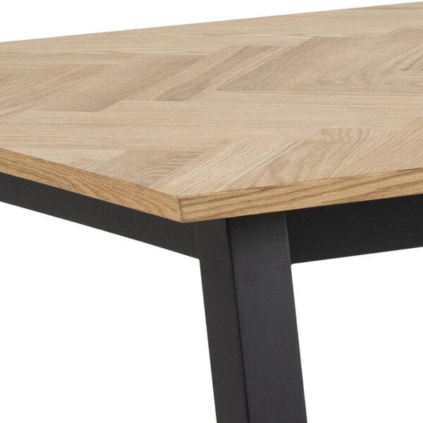 Pusdienu galds Selsey Brighton 220, brūns lētāk