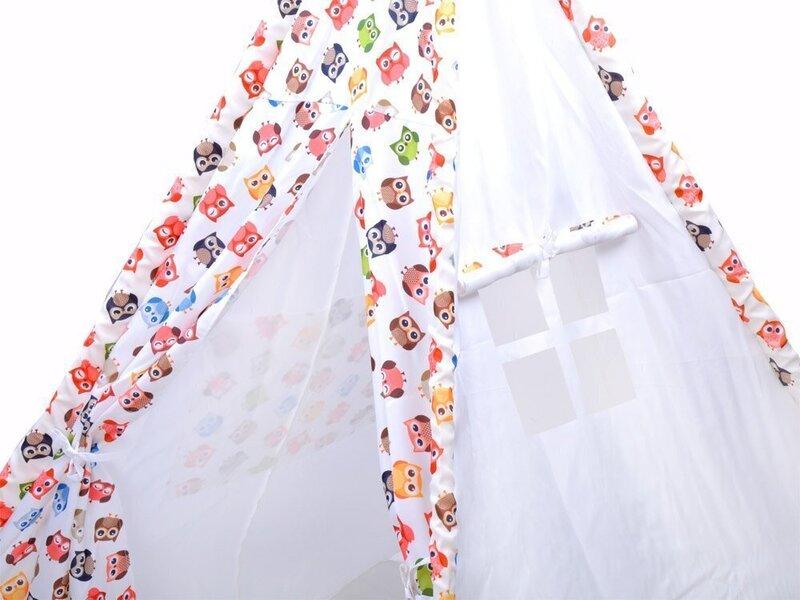 Bērnu telts Baby's Paradise, dažādas krāsas, 145x110 cm