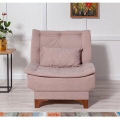 Krēsls Artie Kelebek, rozā/brūns cena un informācija | Atpūtas krēsli | 220.lv