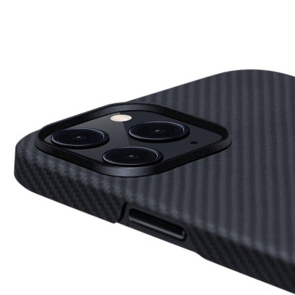 Air Case priekš iPhone 12 Pro Max (Black/Grey Twill) internetā