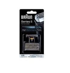 Skuvekļa režģis + asmens Braun 51S (8000) cena un informācija | Elektriskie skuvekļi | 220.lv