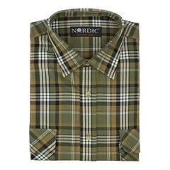 Vīriešu krekls NORDIC, taisns siluets - Ar garām piedurknēm cena un informācija | Vīriešu krekls NORDIC, taisns siluets - Ar garām piedurknēm | 220.lv
