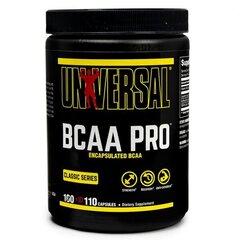uztura bagātinātājs Universal Nutrition BCAA Pro 110 kaps. cena un informācija | Aminoskābes | 220.lv