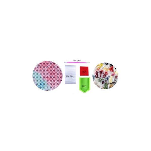Жемчужная картина 5D Diamond Puzzle PL4552, 30х40см ( 24X34 ) цена