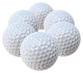 Mini golfa bumbiņas 6 gab. iepakojumā cena un informācija | Golfs | 220.lv