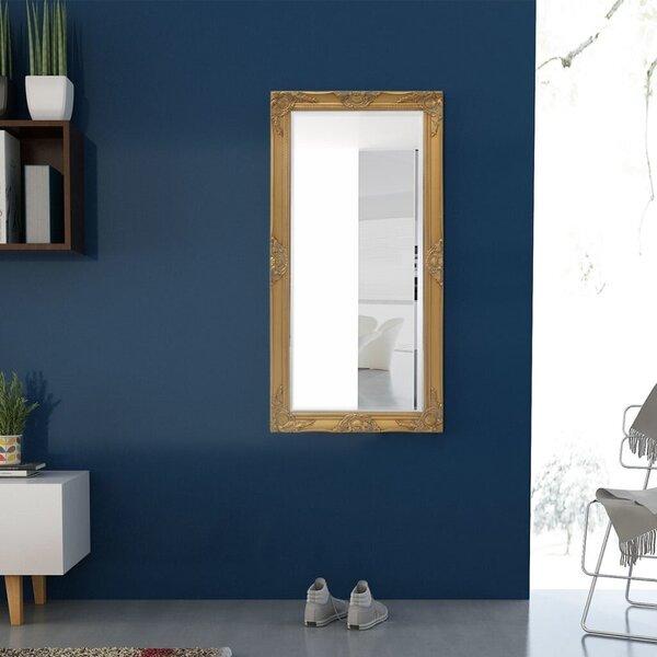 Sienas spogulis, baroka stils, 120x60 cm, zelta krāsa internetā