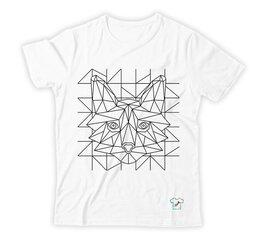 DoShirts krāsojamais t-krekls Foxy cena un informācija | Blūzes, sieviešu krekli | 220.lv