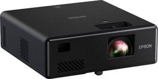 TV lāzera mini projektors Epson EF-11, melns cena un informācija | Projektori | 220.lv