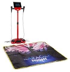 Karaoke skatuves komplekts ar apgaismotu skatuves paklāju Fenton KSM15R, sarkans cena un informācija | Karaoke skatuves komplekts ar apgaismotu skatuves paklāju Fenton KSM15R, sarkans | 220.lv