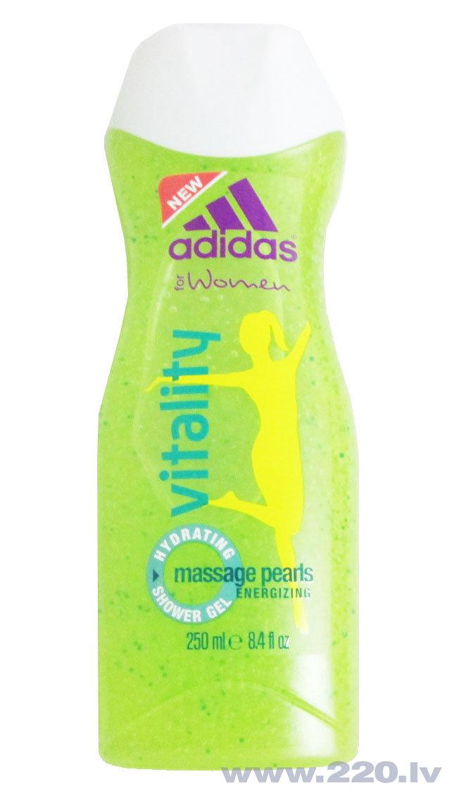 Dušas želeja Adidas Vitality 250 ml cena un informācija | Parfimēta sieviešu kosmētika | 220.lv