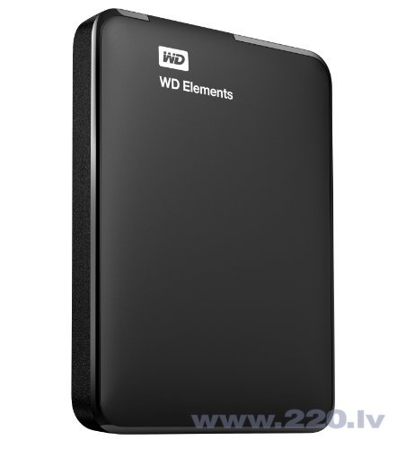 WD Elements 500GB USB 3.0 WDBUZG5000ABK цена и информация | HDD - ārējie | 220.lv