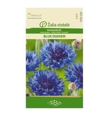 Rudzupuķes Blue Diadem Žalia stotelė 2,0 g cena un informācija | Puķu sēklas | 220.lv