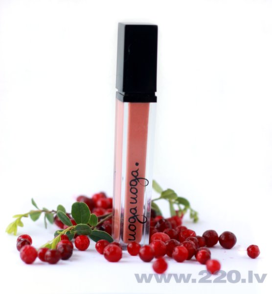 Dabīgs lūpu spīdums ar brukļenu ekstraktu Uoga Uoga Ķeru vēju 7 ml cena un informācija | Lūpas | 220.lv
