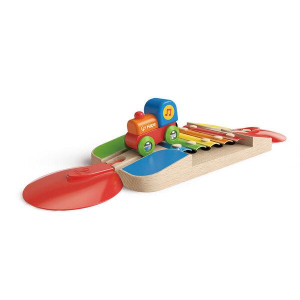 Koka vilciens ar ksilofonu Hape, E3813 cena