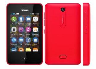 Nokia 501 Asha Dual Red (Sarkans) cena un informācija | Mobilie telefoni | 220.lv
