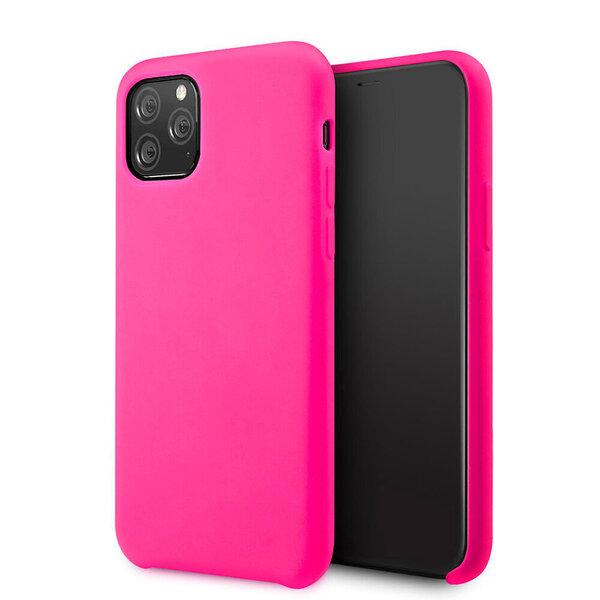 Samsung Galaxy M21 silikona telefona vāciņš , rozā internetā