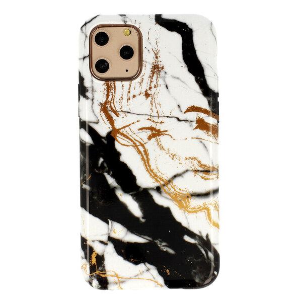 iPhone 12 / 12 Pro vāciņš Marble Silicone, D3 cena
