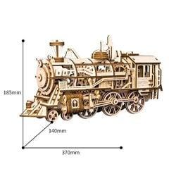 Robotime Locomotive 3D puzle cena un informācija | Robotime Locomotive 3D puzle | 220.lv