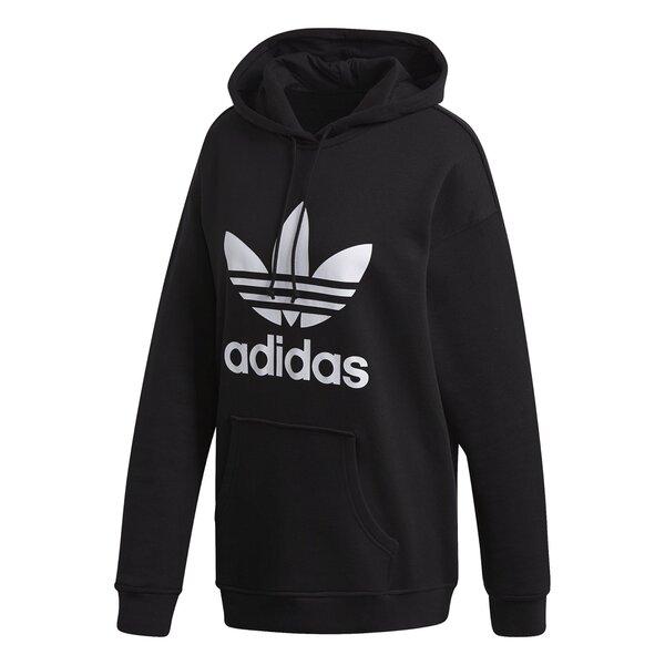 Толстовка женская Adidas Adicolor Trefoil, черная