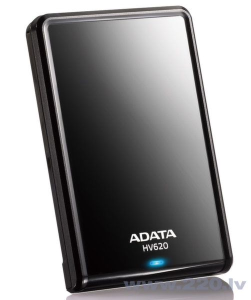 A-data HV620 1TB Slim цена и информация | HDD - ārējie | 220.lv