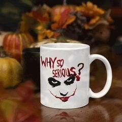 "Krūze ""Why so serious?"" cena un informācija | Krūze ""Why so serious?"" | 220.lv"