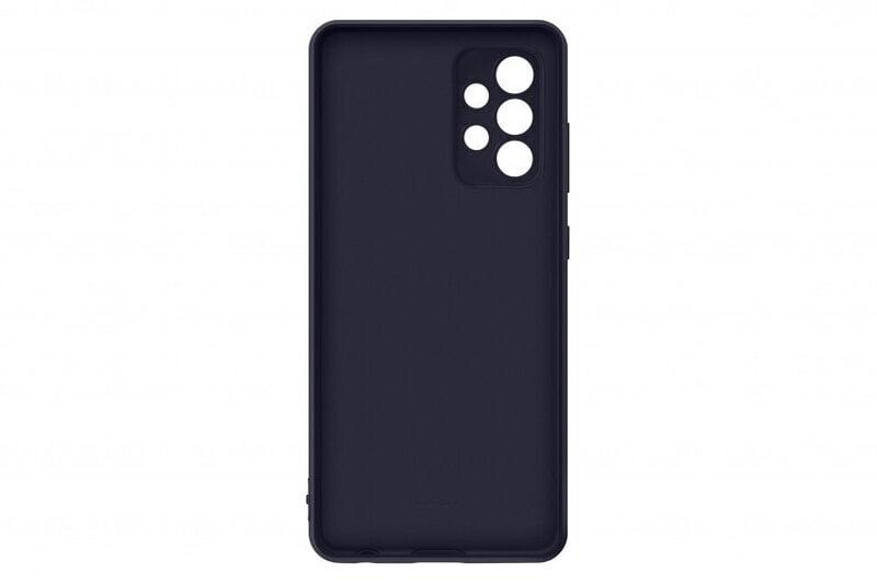 Samsung maciņš piemērots Samsung Galaxy A52 Silicone Cover, Black atsauksme