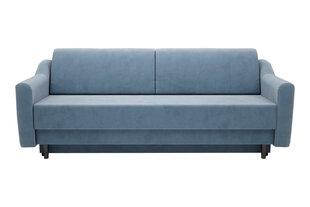 Dīvāns Kobik Haga, zils cena un informācija | Dīvāni | 220.lv