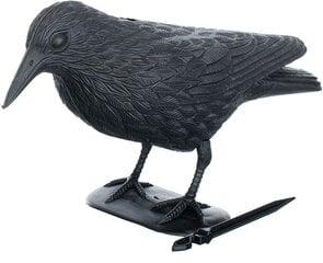 Plastmasas liela vārna putnu atbaidīšanai cena un informācija | Aizsardzībai pret kurmjiem un grauzējiem | 220.lv