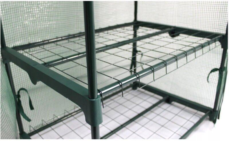 Siltumnīca-lecekts, zaļa 160x69x49 cm atsauksme