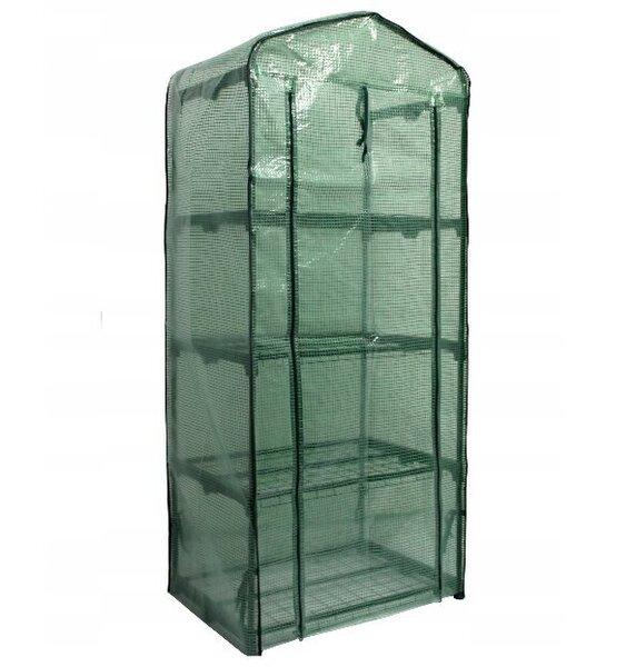 Siltumnīca-lecekts, zaļa 160x69x49 cm cena