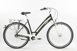 "Pilsētas velosipēds Ronda Urban 28"", zaļš cena un informācija | Velosipēdi | 220.lv"