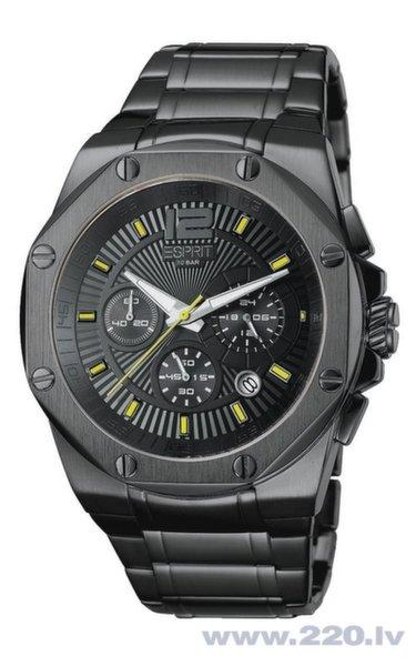 Pulkstenis ESPRIT Clear Octo Antracite cena un informācija | Vīriešu pulksteņi | 220.lv